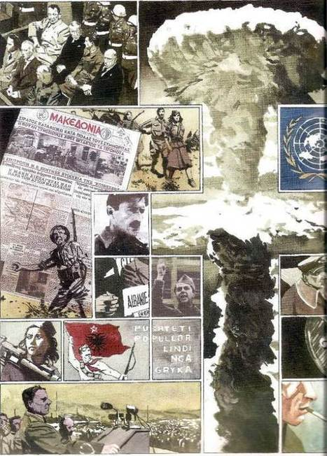 Revue de presse de Tarek: Etude pédagogique d'après Sir Arthur Benton : La Guerre froide | Bande dessinée et illustrations | Scoop.it