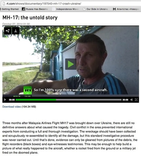 #Ukraine Suppression about the Downing of #MH17 Malaysian Jet | News in english | Scoop.it