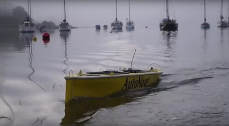 Autonaut : le drone marin qui prédit la météo avec plus de précision   Libertés Numériques   Scoop.it