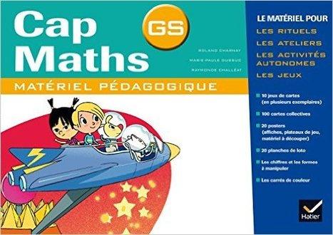 Cap maths : GS : matériel pédagogique [programmes 2015] de Roland Charnay, Marie-Paule Dussuc, Raymonde Challéat | Les nouveautés de la médiathèque | Scoop.it
