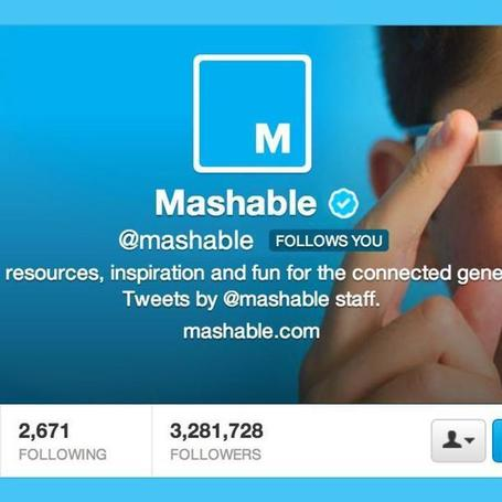 It's Time to Change Mashable's Twitter Profile Picture | Skolbiblioteket och lärande | Scoop.it