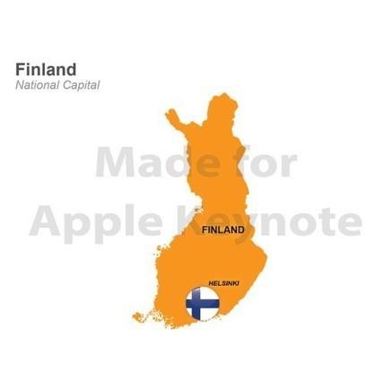 Finland Map for iPad Keynote Presentation | Apple Keynote Slides For Sale | Scoop.it