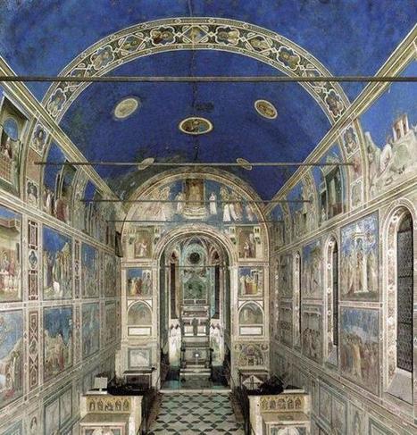 Giotto, scoperti agli Scrovegni i volti 'segreti' dell'affresco | Capire l'arte | Scoop.it