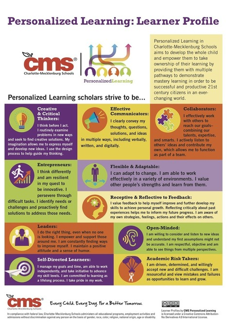 Every Child, Every Day, For a Better Tomorrow through Personalized Learning | Personalize Learning (#plearnchat) | Scoop.it