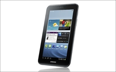 Samsung Kicks Off Android 4.0 Tablets With Galaxy Tab 2 | WEBOLUTION! | Scoop.it