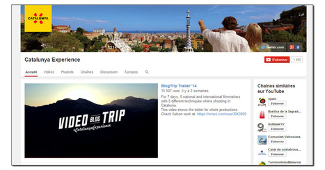 5 vidéastes de renom pour la promotion de la Catalogne | Film touristique | Scoop.it
