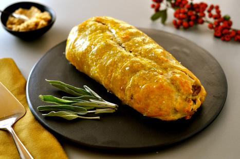 Vegan Roast Wellington with Lentils, Mushrooms & Chestnuts | Vegan Food | Scoop.it