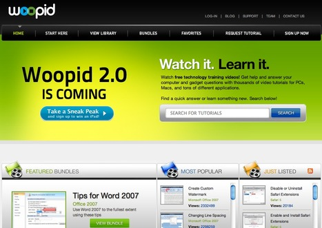 Woopid Video Tutorials | IKT och iPad i undervisningen | Scoop.it