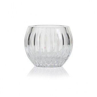 Shining Star Clear Crystal tealight votive / vase | Coloured Crystal | Scoop.it