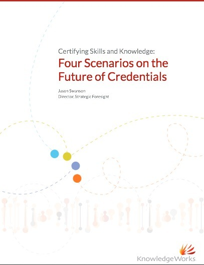 Four Scenarios on the Future of Credentials | Digital Badges and Alternate Credentialling in Higher Education | Scoop.it