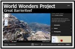 Cool Tools for 21st Century Learners: Explore the Great Barrier Reef: Google Wonders Project | iLe@rn | Scoop.it