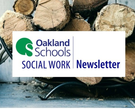 Fall, 2015 @OaklandSchools Social Work News | SSW Professional Development and Learning | Scoop.it