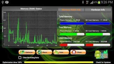 RAM Optimizer HD [Android 2.2+] - Android Brasil Market | Android Brasil Market | Scoop.it