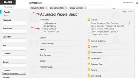 HOW TO: Use LinkedIn Groups to Help Recruiters Find You   B2B Marketing & LinkedIn   Scoop.it