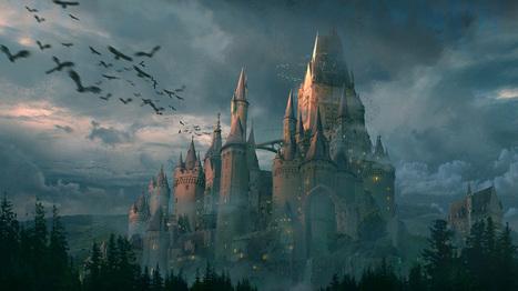 Castle | Concept art, Painting & Illustration | Scoop.it