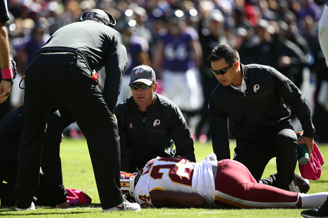 Josh Norman Injured on Long Completion, Penalty | Flash News | Scoop.it