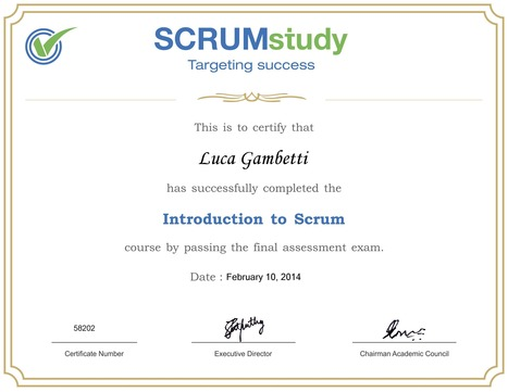 Agile PM: Corso gratuito on line di introduzione a SCRUM | Strumenti per i project management | Scoop.it