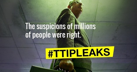 #Greenpeace #Netherlands has released secret #TTIP negotiation documents | Messenger for mother Earth | Scoop.it