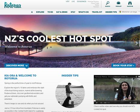 Tour du Monde du web touristique : Rotorua Nouvelle-Zélande « Etourisme.info | Médias sociaux et tourisme | Scoop.it