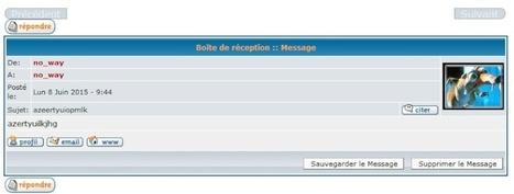 Tutoriel: Boutons suivant et précédent pour la messagerie privée | Forumactif | Scoop.it