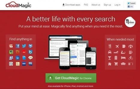 CloudMagic: integra toda tu actividad en la nube en un cómodo buscador | La Tesis 2.0 | Scoop.it