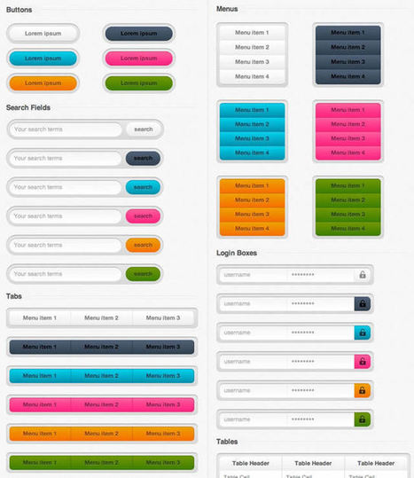 10 Free Pure CSS UI Kits - Speckyboy Design Magazine | let's make social games | Scoop.it