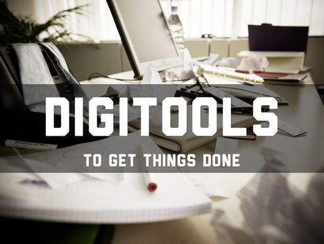 DigiTools For Getting Things Done - A Haiku Deck by Greg Garner | davidchiquero | Scoop.it