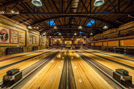 Vintage 1927 Bowling Alley Is Restored in Spectacular Steampunk Decor | Le It e Amo ✪ | Scoop.it