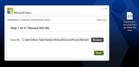Comment installer Windows 8 à partir d'une clé USB | Onsoftware | Time to Learn | Scoop.it