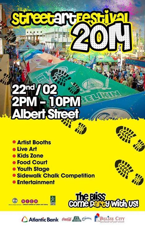 Street Art Festival is Today in Belize City | Travel - Things to do in Belize | Scoop.it