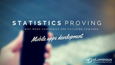 Statistics- Mobile Apps Development   eLuminous Technologies   PHP development Company   Scoop.it
