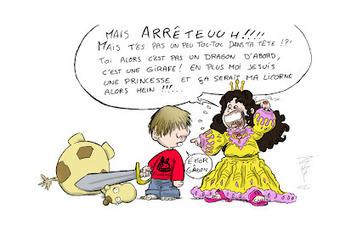 Zhyron'Sketch Book: Mes enfants sont des rôlistes... | Jeux de Rôle | Scoop.it