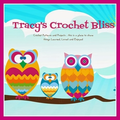 Tracy's Crochet Bliss: March Crochet Round-Up | CrochetHappy | Scoop.it