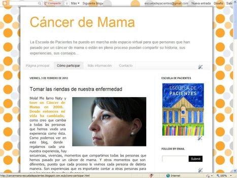Blog de Cáncer de Mama | Blogs Escuela de Pacientes | Scoop.it