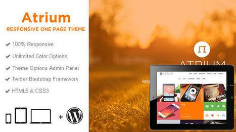 Atrium One Page Parallax WordPress Theme - Wpthemetuts | Latest Wordpress Themes | Scoop.it