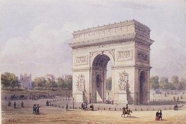 #210 ❘ L'Arc de triomphe de l'étoile ❘ 1836 | # HISTOIRE DES ARTS - UN JOUR, UNE OEUVRE - 2013 | Scoop.it
