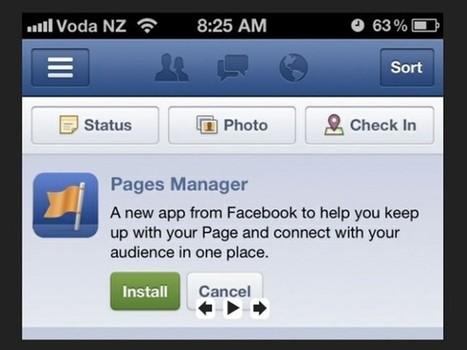 Facebook Pages Manager : une Application pour gérer ses Pages de Marques   Animer une communauté Facebook   Scoop.it