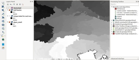 Beautiful Watershed Polygons in QGIS - Digital Geography | Everything is related to everything else | Scoop.it