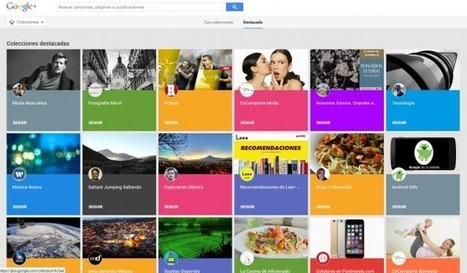 Google+ lanza Colecciones, su alternativa a Pinterest   Social Media   Scoop.it