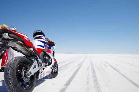 Video: Setting a Land Speed Record on a Stock CBR600RR | Digital-News on Scoop.it today | Scoop.it