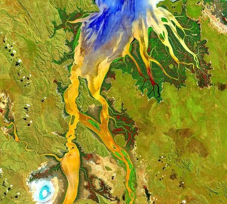 These Stunning Satellite Images Turn Earth Into Art | Geography Education | Scoop.it