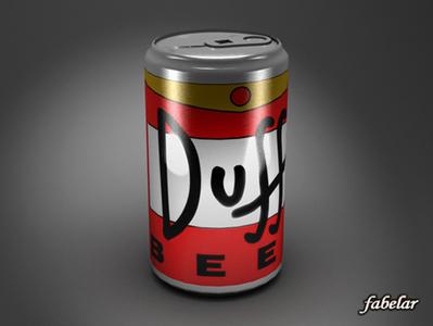 Bière Duff en 3D | 3D Library | Scoop.it