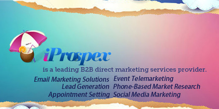 Find out more what our personalized direct marketing services can do for you | Iprospex-IT Services Lead Generation | Scoop.it