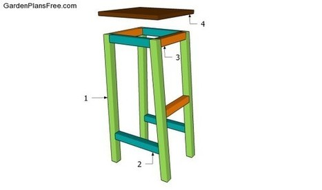 Bar Stool Plans Free | Free Garden Plans - How to build garden projects | Deck Projects | Scoop.it