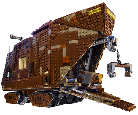 Lego Sandcrawler rolls through 'Star Wars' universe | Daily Magazine | Scoop.it