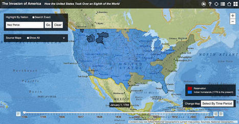 Watch How The US Stole Land From Native Americans | Co.Design | Public Relations & Social Media Insight | Scoop.it
