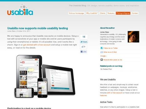 Usabilla now supports mobile usability testing | Konigi | SurveyTV | Scoop.it