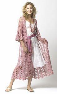 Crochet Lacy Duster | All Crochet | Scoop.it