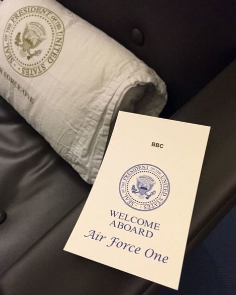 Air Force One: A trip with special M&Ms and James Bond - BBC News | LibertyE Global Renaissance | Scoop.it