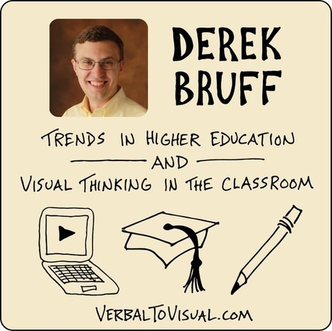 VTV 016 : Derek Bruff – Trends In Higher Education And Visual Thinking In The Classroom | Visual Thinking, Visual Learning, Visual Literacy | Scoop.it
